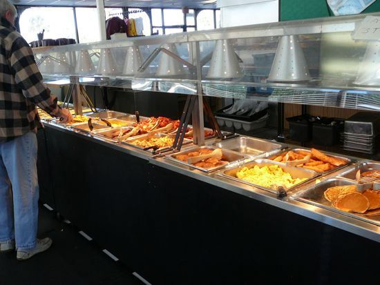 buffet at all american diner panama city beach florida front beach rh pinterest com cheap seafood buffet panama city beach wharf seafood buffet panama city beach