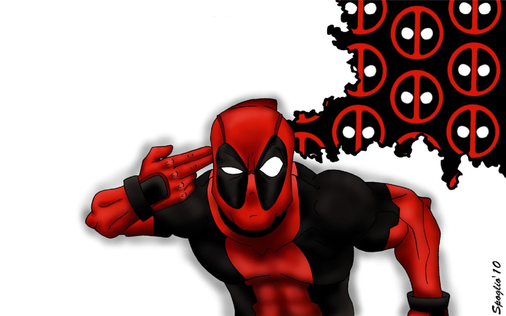 Pin by Катруся on Deadpool Deadpool wallpaper, Black
