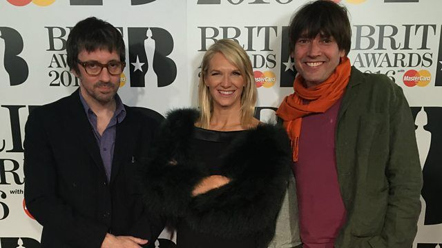 BBC Radio 2 - Jo Whiley, The Brit Awards Backstage, Blur at The Brits 2016
