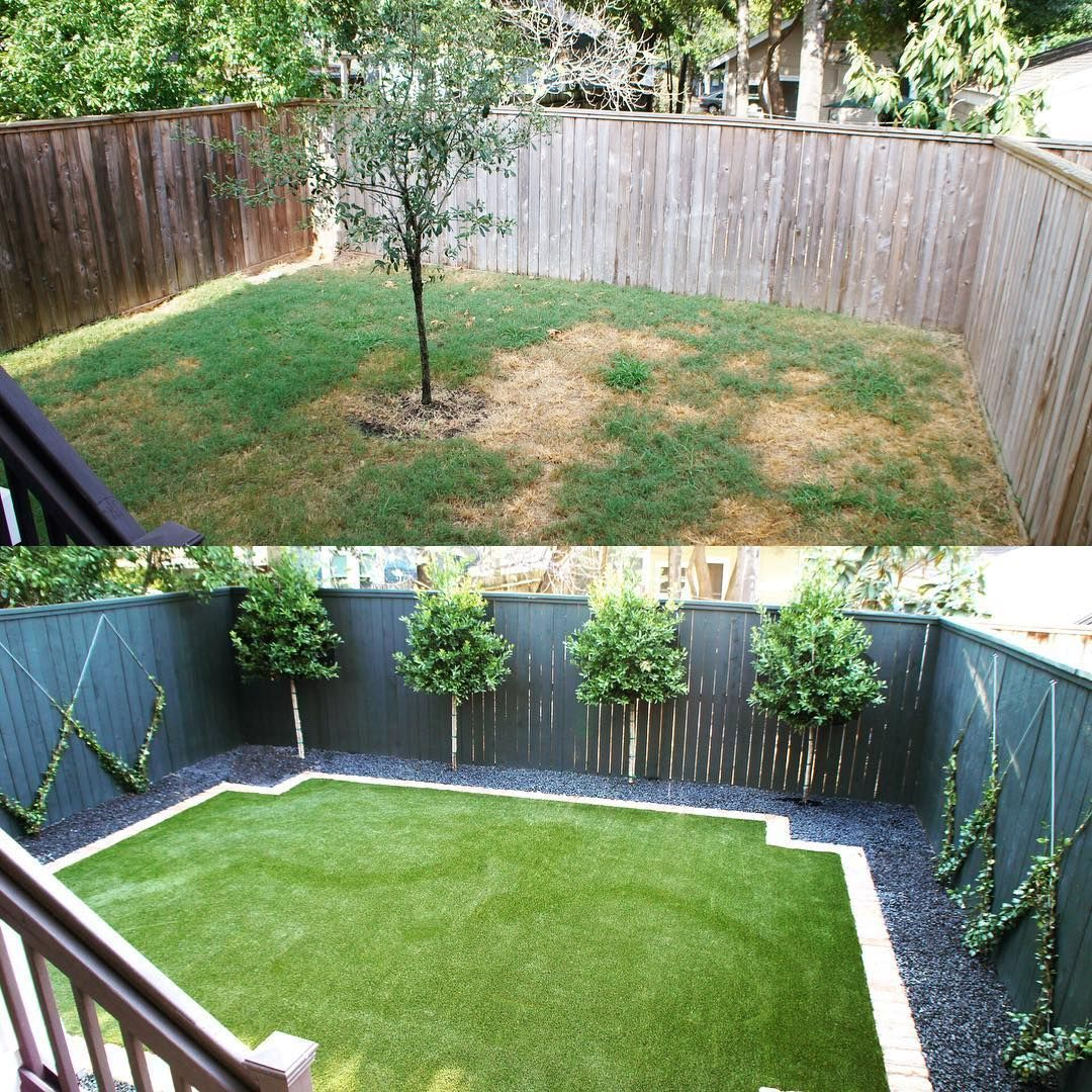 Size Does Matter When It Comes To Your Yard Big Or Small We Will Be Able To Give It The Transf Small Backyard Landscaping Inexpensive Backyard Ideas Backyard