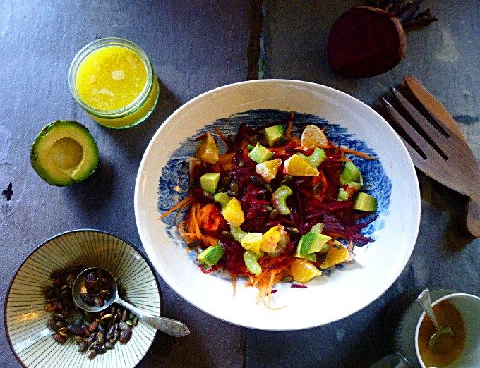 Carrot, Orange & Beetroot Salad | Monday Motivation #3 | T R E A T - heal or cure | healthy living | Lemon and Coconut | #mondaymotivation #inspiration #positivethinking #foodandhealth #plantbased