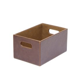 6aca070ad54044539d778cdaf028e812 - Better Homes And Gardens Woven Storage Bin Brown Durable Construction