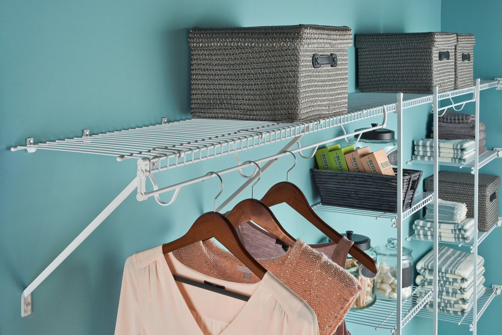 Closetmaid Wire Shelving | Wire Shelving | Pinterest | Wire shelving ...