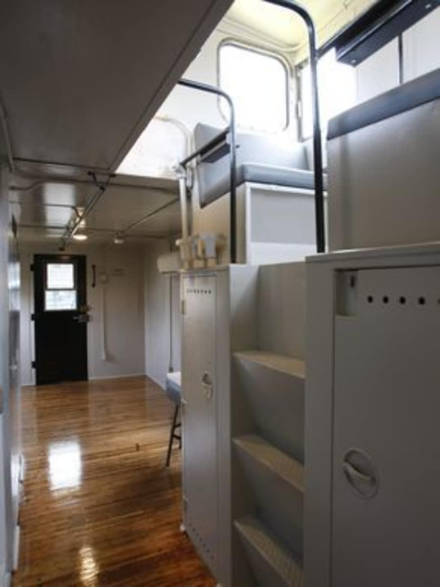 All On Board Caboose Style Living In Louisville Ky Tiny House For Rent In Louisville Kentucky Tiny House Listings Tiny Houses For Rent Tiny House Listings Caboose