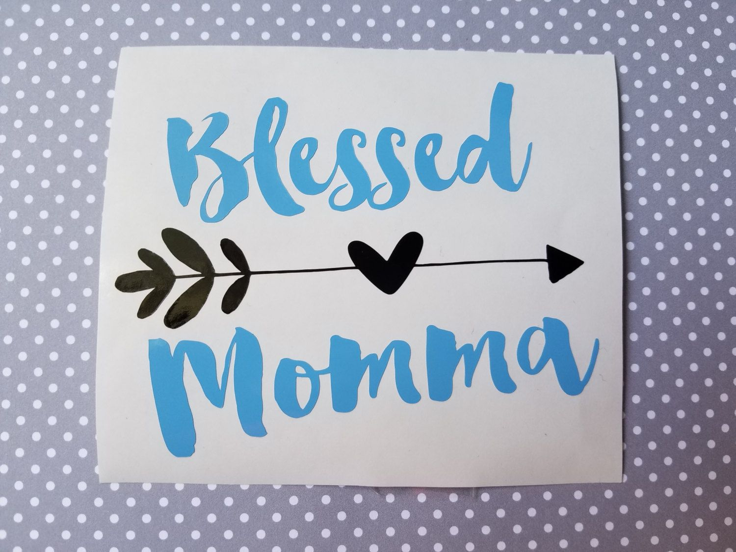 Blessed Momma Decal Mama Decal Mom Decal Country Girl Decal - Country girl custom vinyl decals for trucks