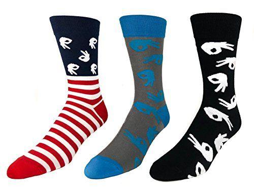 f687989e3214 Circle Game Socks | Circle Game Gear Novelty Socks Men Funny Socks for The  Hand Circle