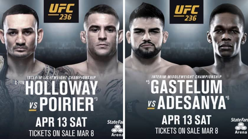 Ufc 236 Is Exclusively On Espn Get The Fight And An Annual Sub For Just 80 New Technology Kelvin Gastelum Ufc