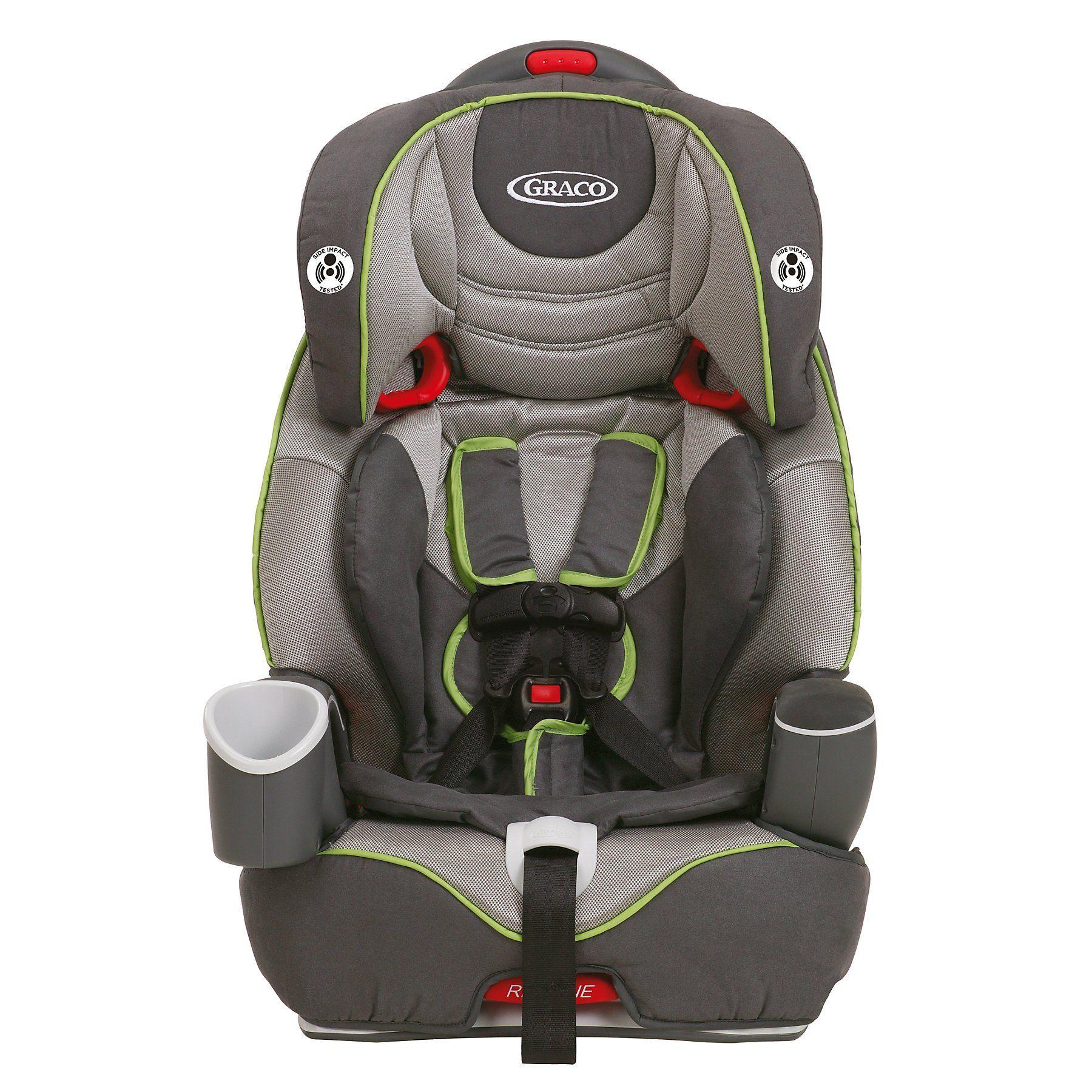 Graco Nautilus MultiStage Car Seat, Gavit, Grey/Green