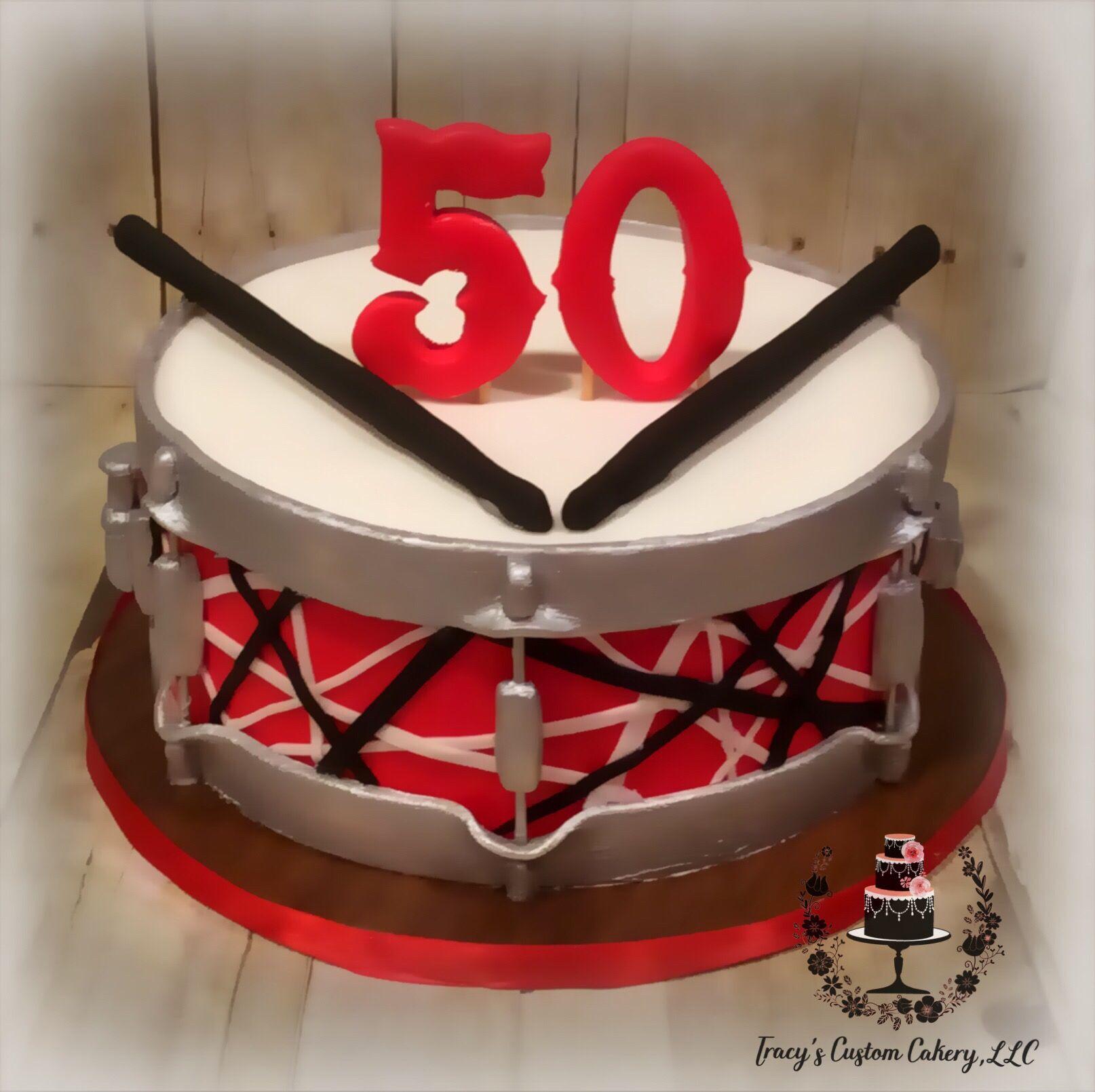 Pin By Tracy S Custom Cakery Llc On Milestone Birthday Cakes Cake Drum Cake Desserts