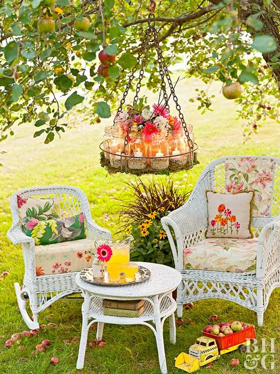 Garden Chandelier | Pinterest | Terrazas y Jardín