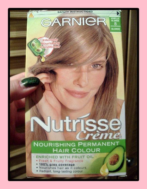 Blonde haarfarbe garnier