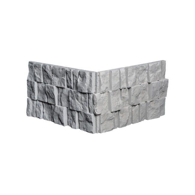 Narożnik dekoracyjny Granit szary 0,6 mb - Płytki elewacyjne - Płytki ścienne, podłogowe i elewacyjne - Wykończenie - Produkty