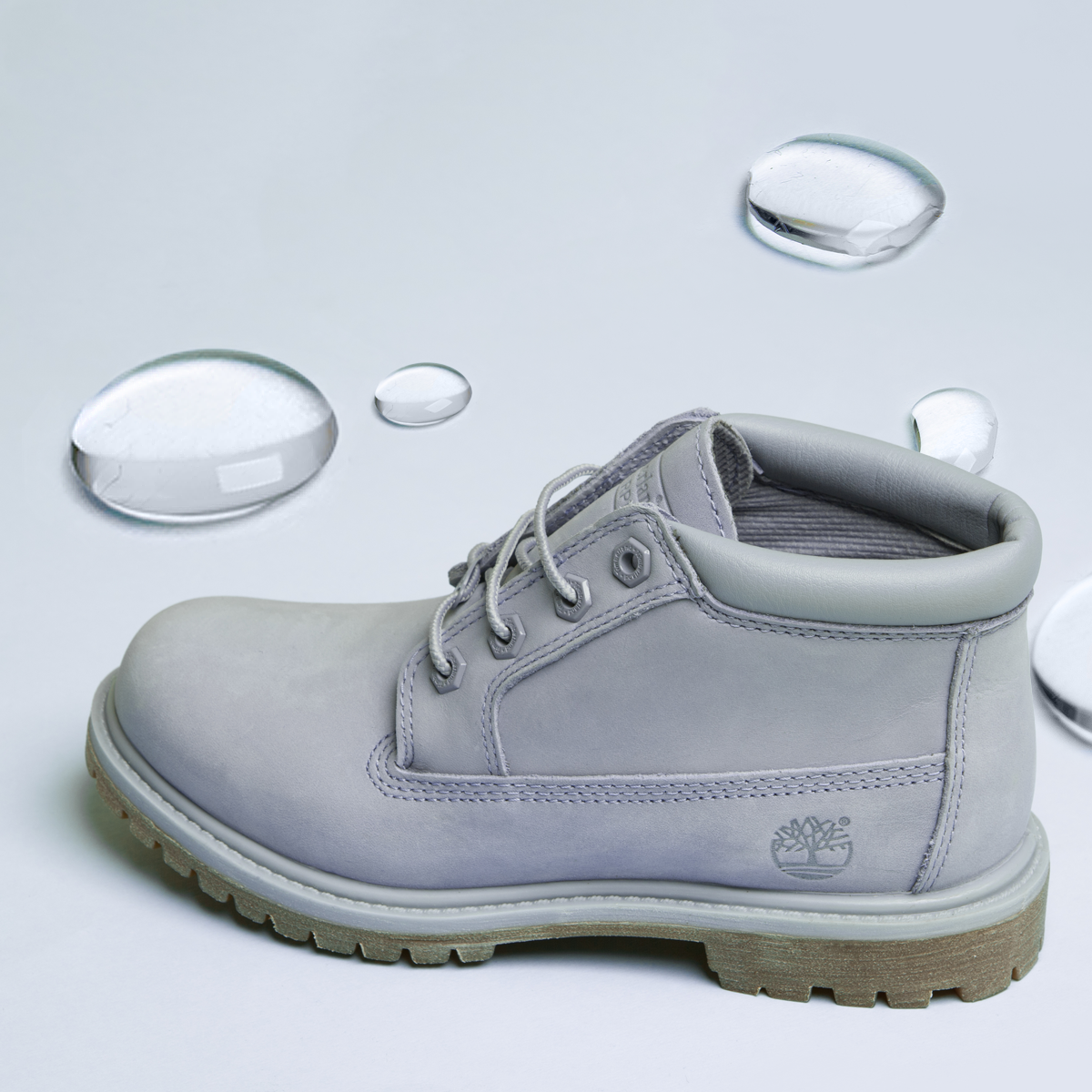Rainy days ain't got nothing on our Timberland Chukka boots