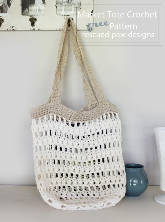 Free Pattern – Market Bag | Craft Ideas | Pinterest | Bolsos ...