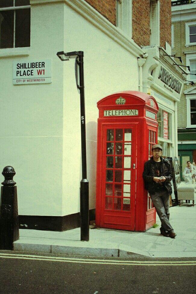 #me #london