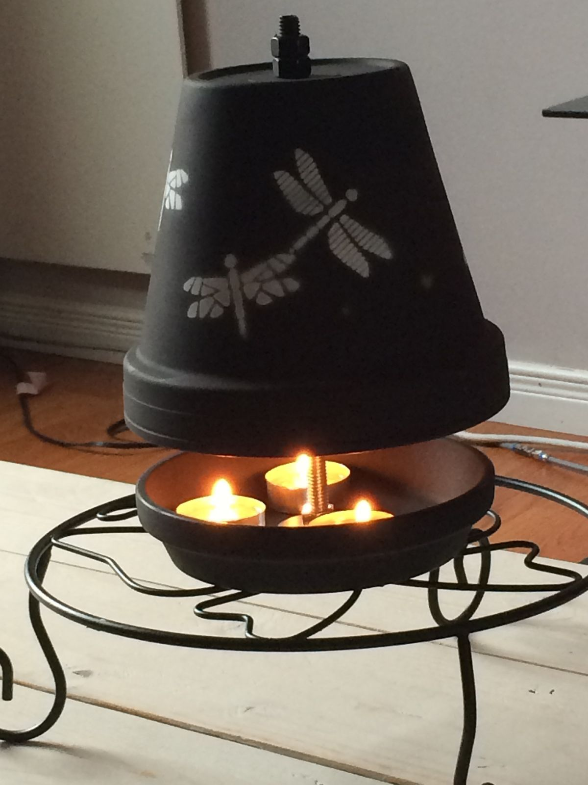 Pin By Kurt Crawford On Heater Clay Pot Crafts Diy