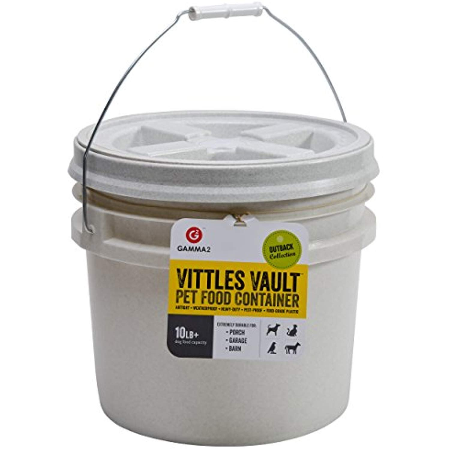 Gamma2 Vittles Vault 10 Lb Airtight Bucket Container For Food Storage Food Grade And Bpa Free Ch With Images Food Animals Pet Food Container Pet Food Storage Container