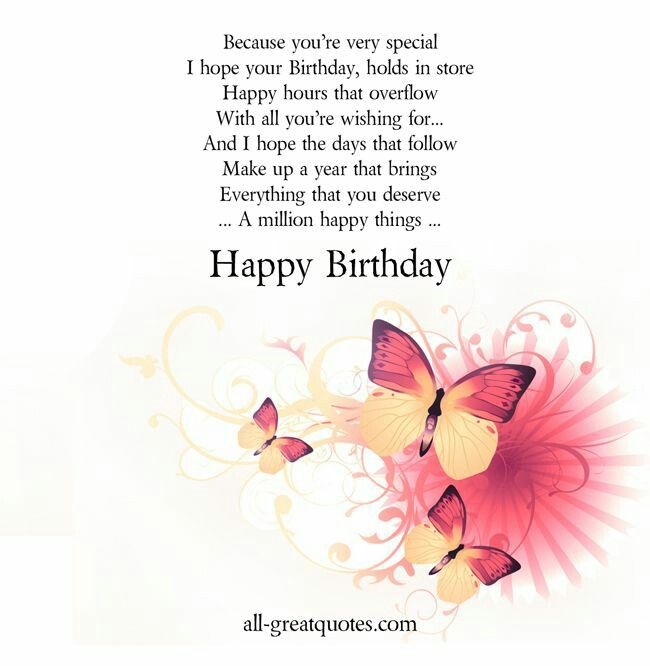 Happy Birthday With Images Birthday Wishes Greeting Cards
