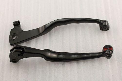 Skull Brake Clutch Levers For Yamaha Virago XV 250 400 535 700 750 1000 1100