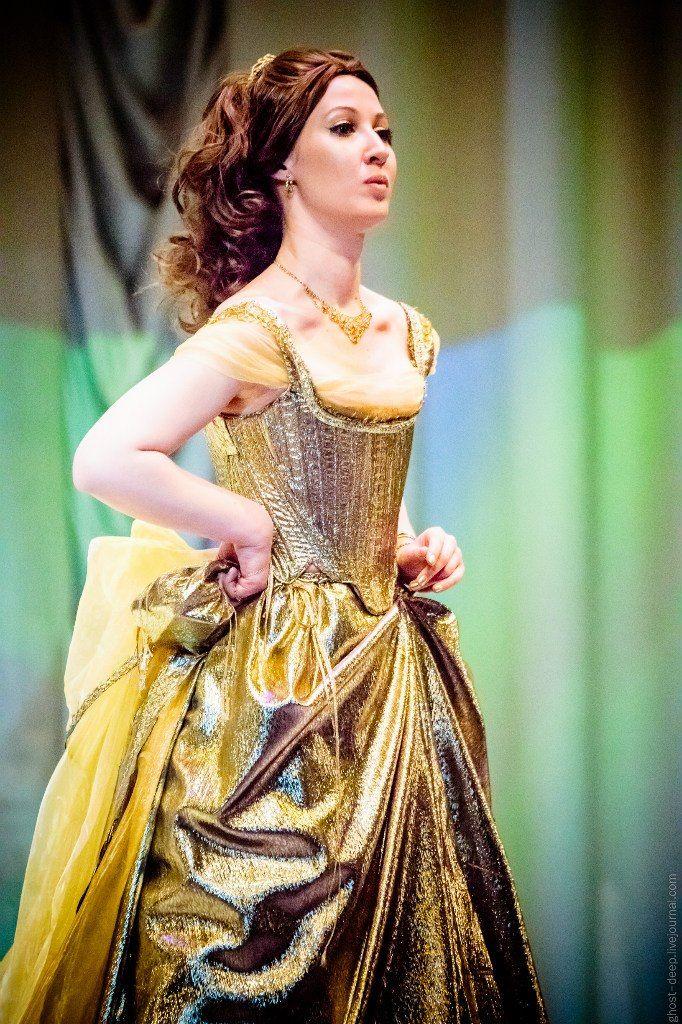Into The Woods 2014 Cinderella Stage Gold Dress Dresses Cinderella Dresses