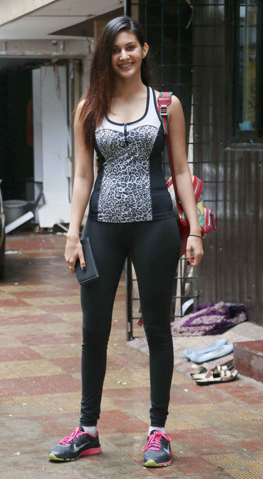 in spandex girls Indian
