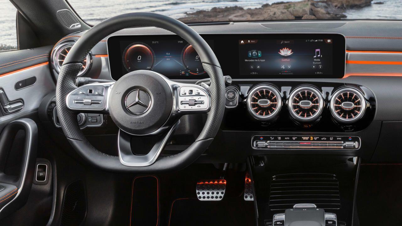 The New Mercedes Benz Cla Coupe Mit Bildern