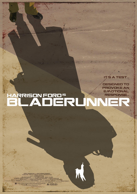 Blade Runner - poster, fan art