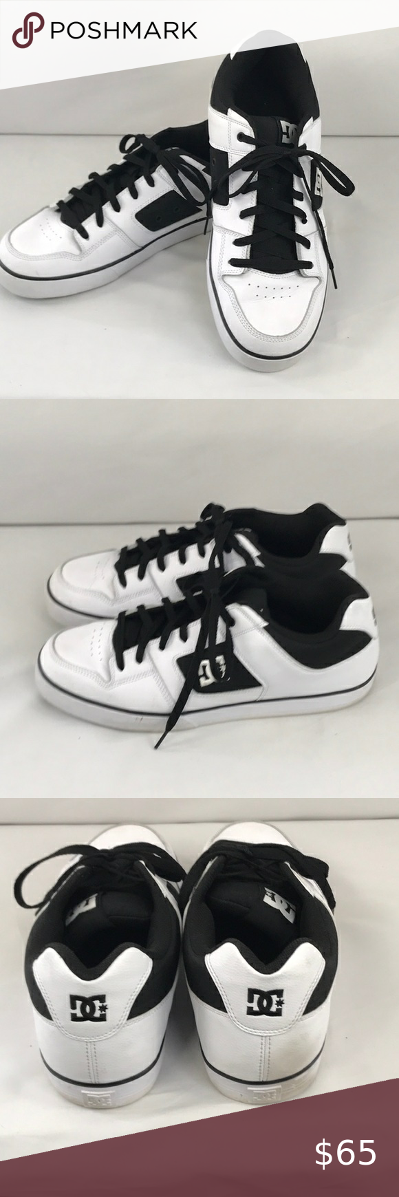 DC tennis skate shoe shoes size 14 in