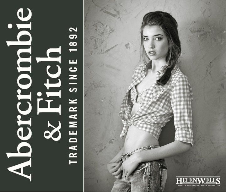 Grace Hartzel Abercrombie & Fitch Promo