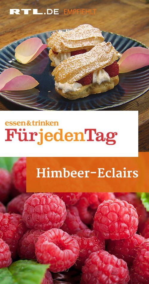 Himbeer-Eclairs