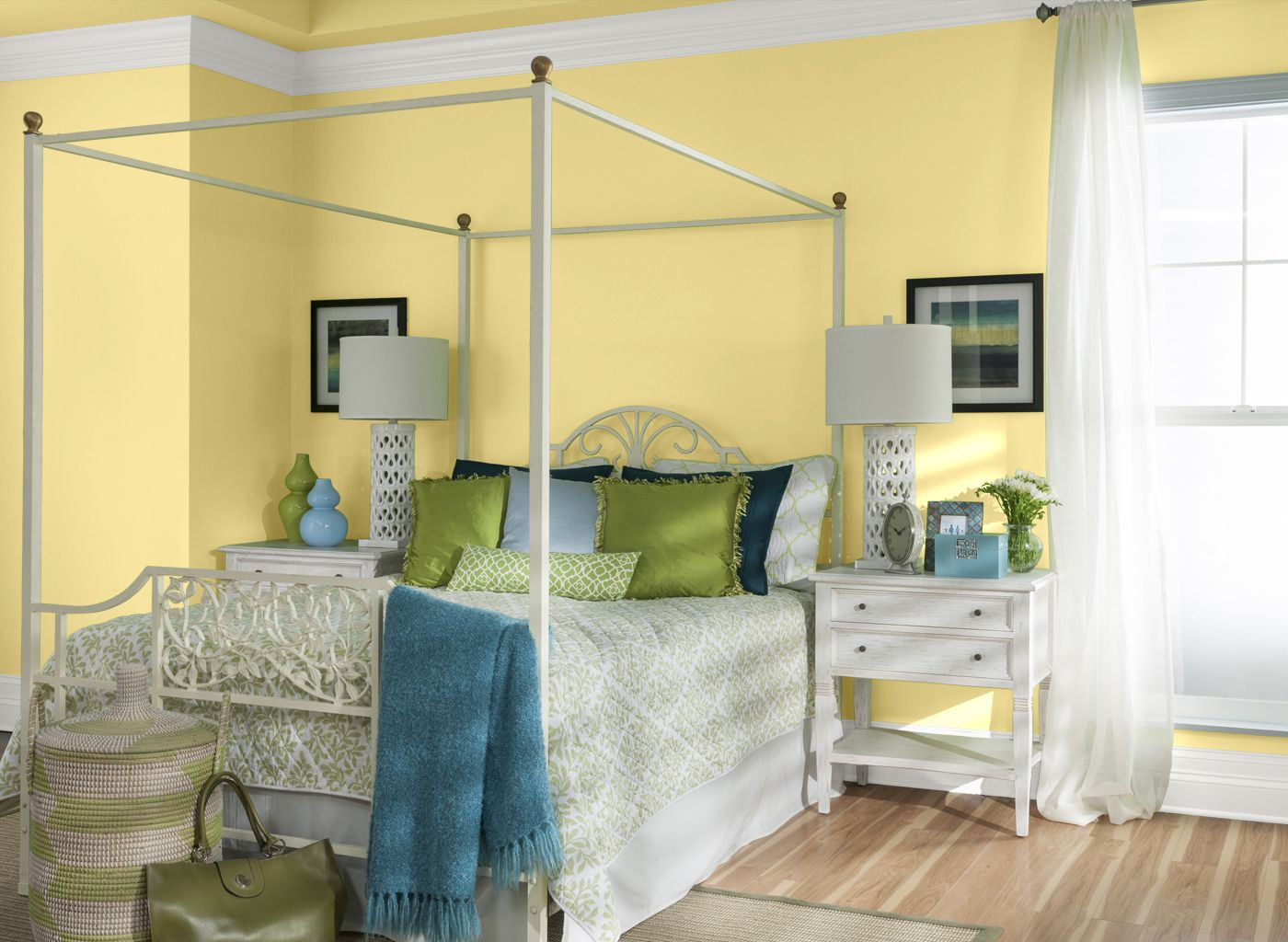 Bedroom in Crisp Ginger Ale | paint colors | Pinterest | Ginger ale ...