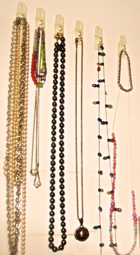 Use Command Hooks To Hang Jewelry On The Inside Of A Closet Door More Handy Tips For Organizing At Organizers Northwest Blog