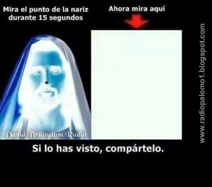 Puedes Ver A Jesus En Esta Imagen Radio Palomo Ilusiones ópticas Divertidas Ilusiones ópticas Acertijos Mejores Ilusiones ópticas