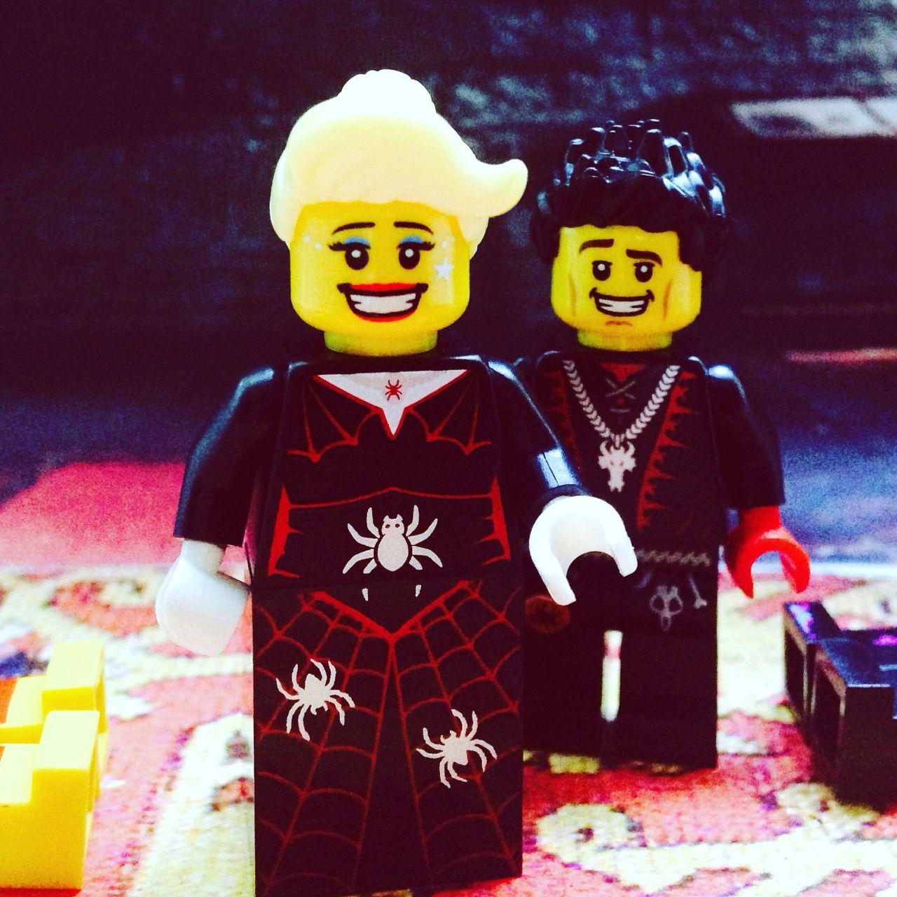 American Horror Story Hotel Lego