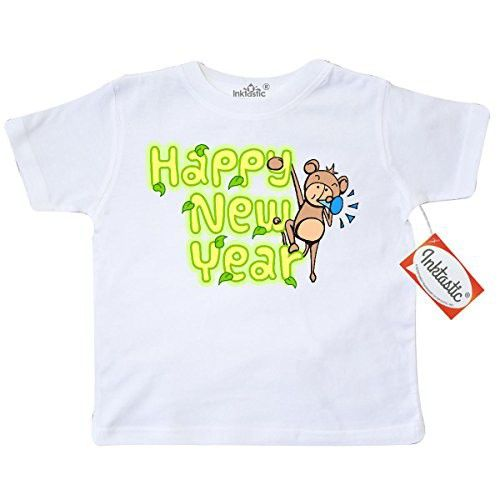 eb447baba Inktastic Little Boys' Happy New Year Toddler T-Shirt 3T White ...