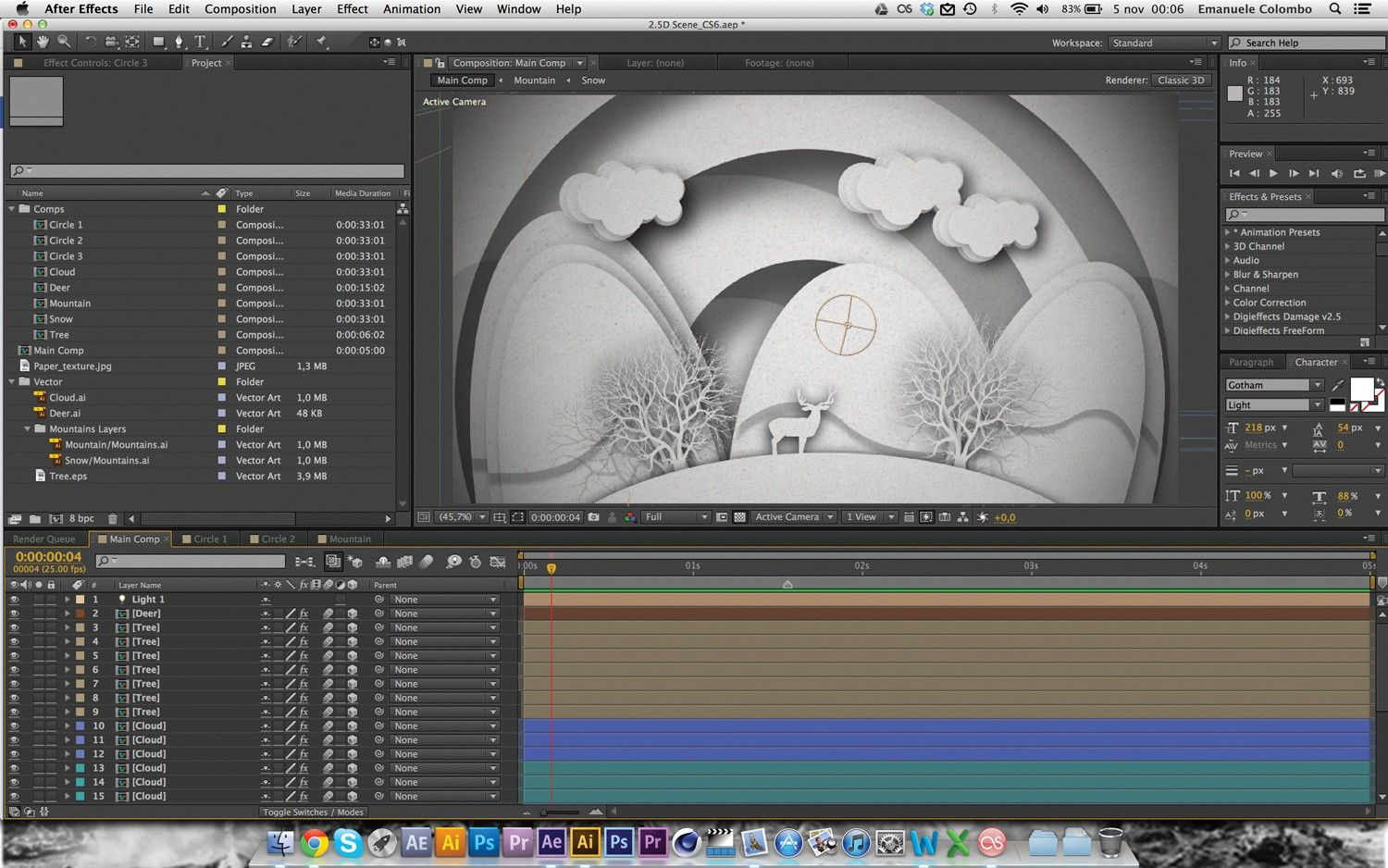After Effects Tutorial: Papercut Animation Techniques Revealed  Digital  Arts