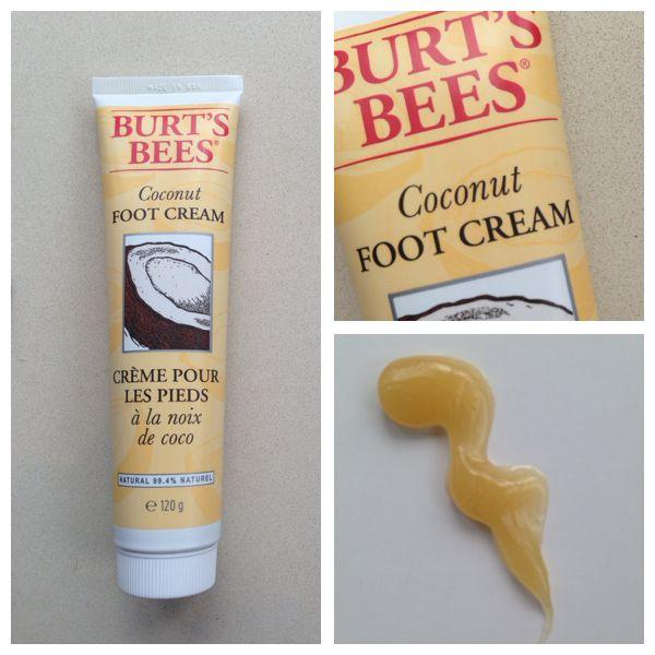 burts bees coconut foot cream