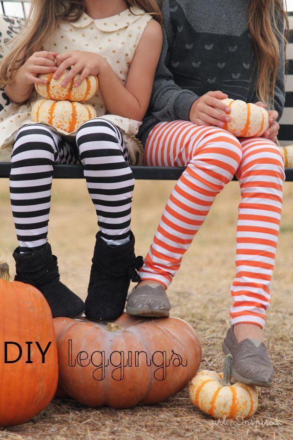 Simple way to make DIY Leggings that turn out great!