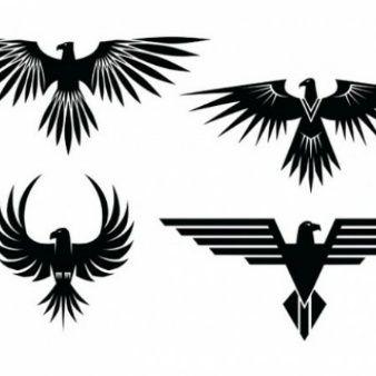 Tatuajes águila Con Las Alas Extendidas Zipskin Tatto