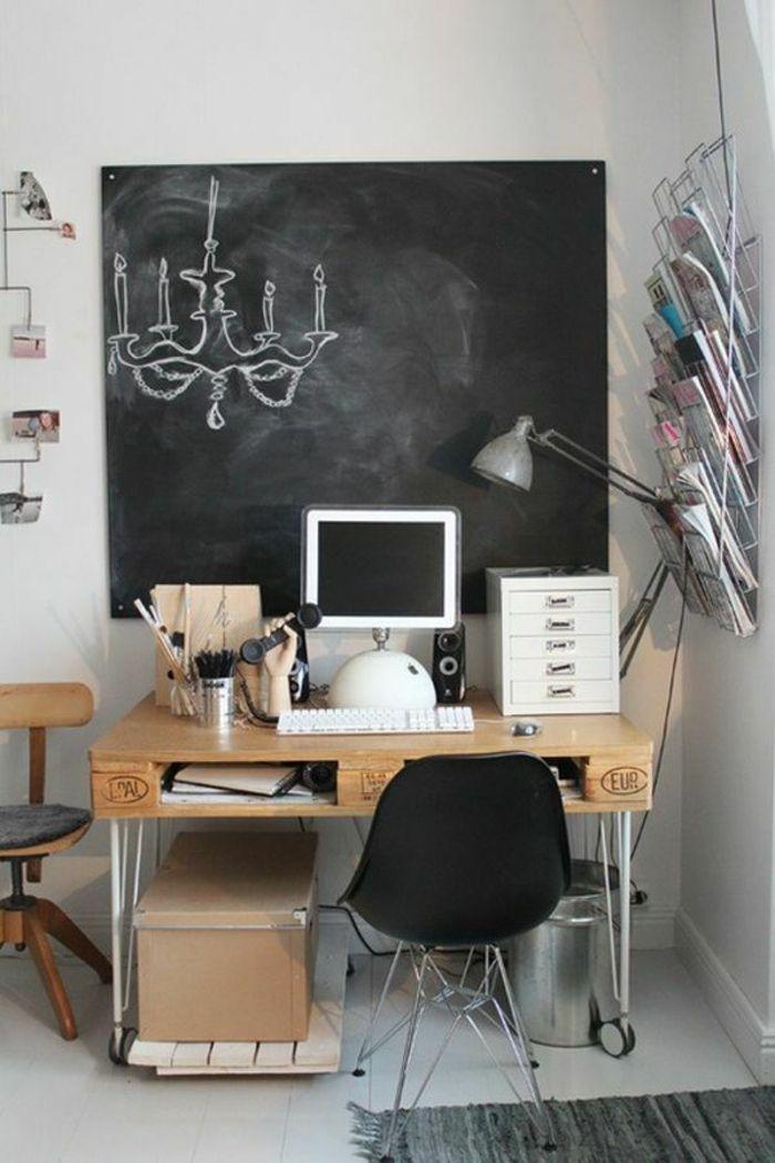 DIY Projekt Schreibtisch selber bauen - 25 inspirierende - schreibtisch diy