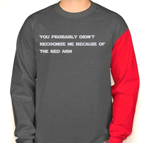 Star Wars Red Arm shirt