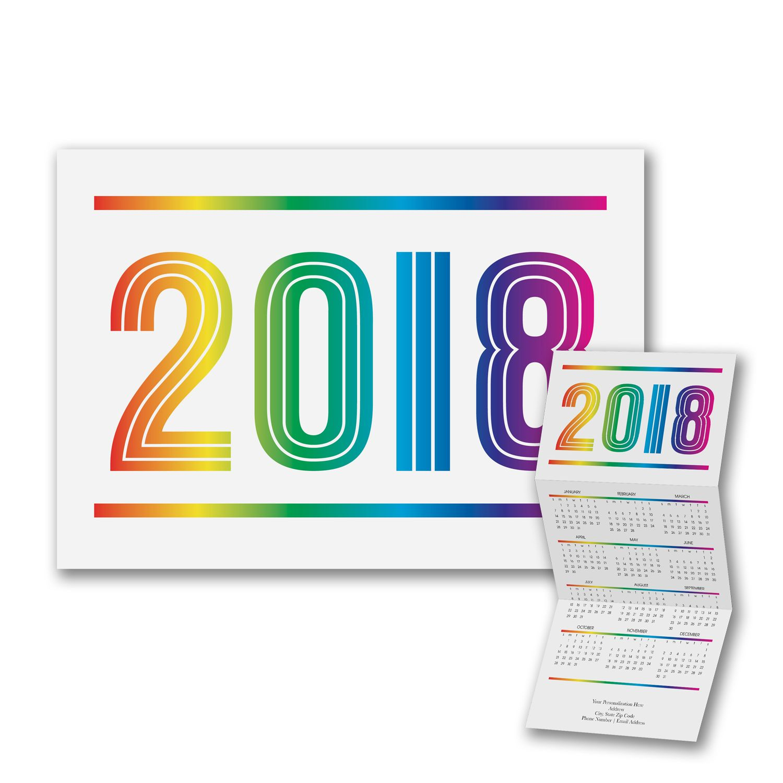 Colors of the Spectrum Calendar Card Cards, Rainbow