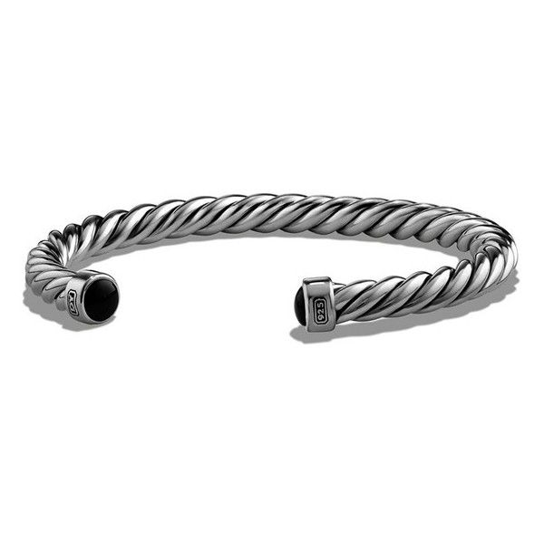 David Yurman Cable Classics Cuff Bracelet 415 liked on