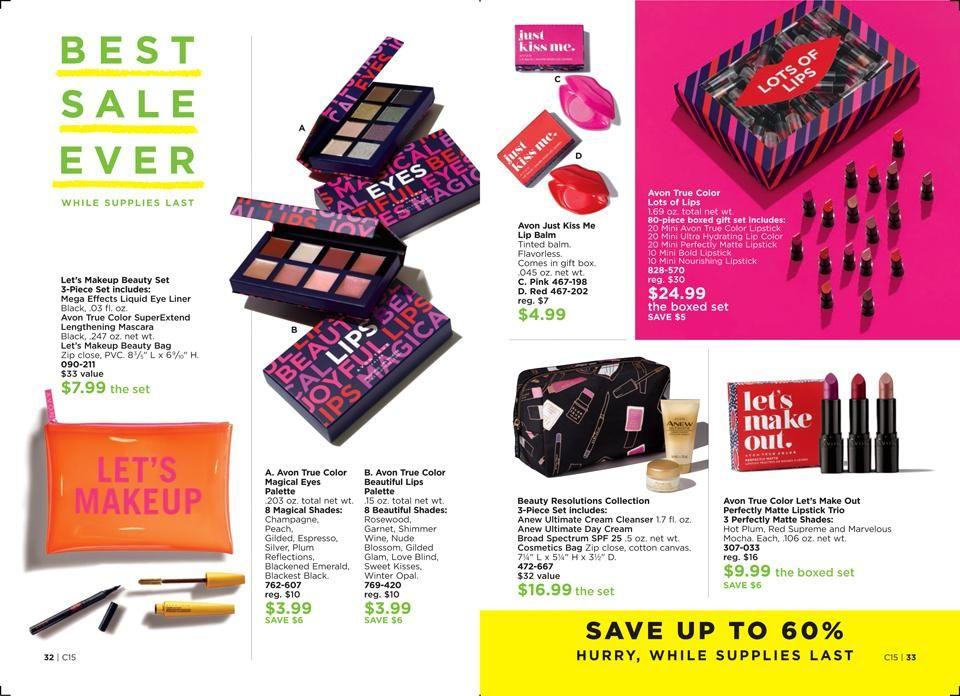 Online Brochure By Avon Avon Skin Care Avon Lip Balm Skin So Soft