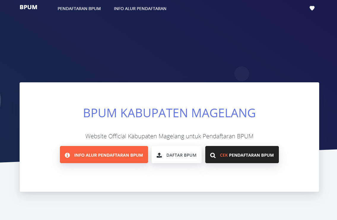 Klik Jpe Magelangkab Go Id Bpum Daftar Bantuan Umkm Kabupaten Magelang Website Magelang