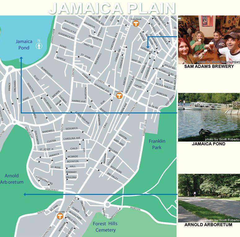Jamaica Plain Boston Map.Pin By Erika Dillon On Inspiration Apparel Design Jamaica Plain