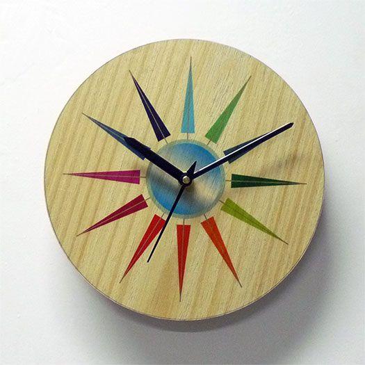 Wall Clock - Wooden Wall Clock - Wall Art - Wall Decor - Sharp ...