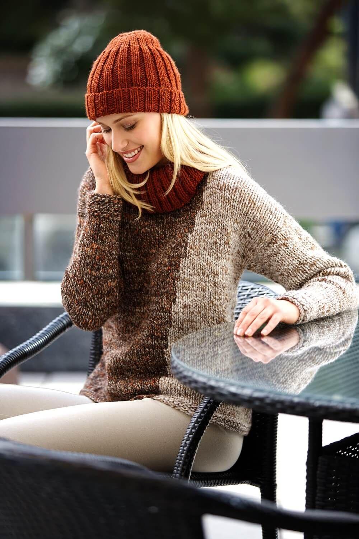 basic beanie in tweet optik kostenlose anleitungen pinterest stricken h keln und stricken. Black Bedroom Furniture Sets. Home Design Ideas