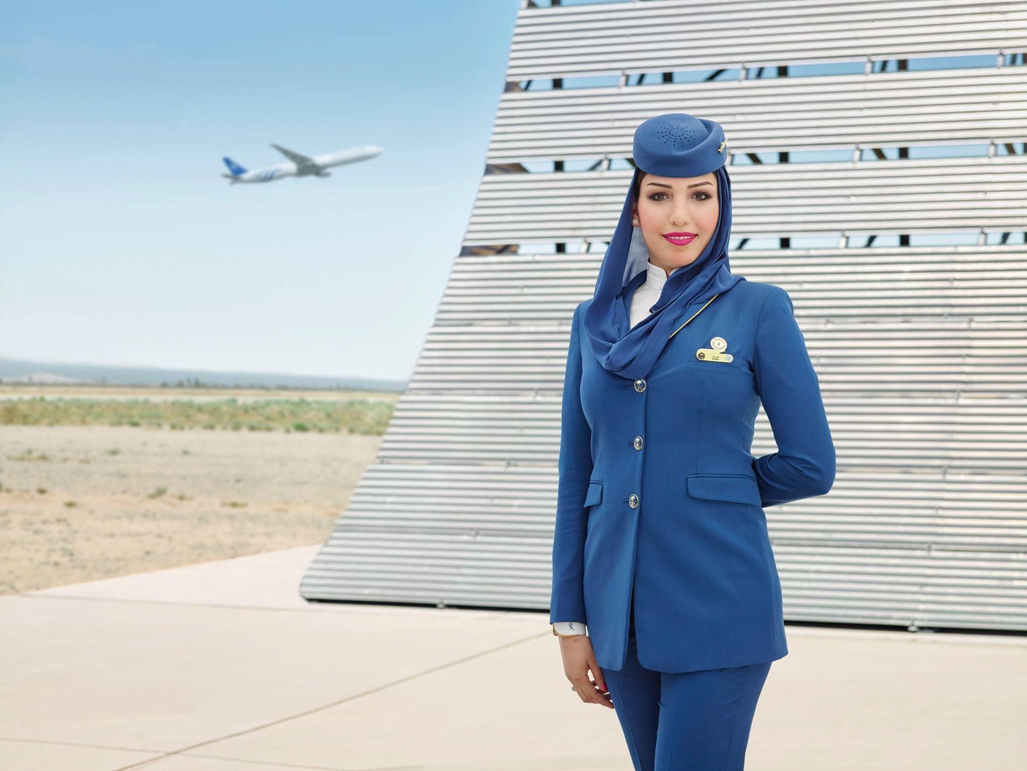 Стюардессы саудовской аравии фото