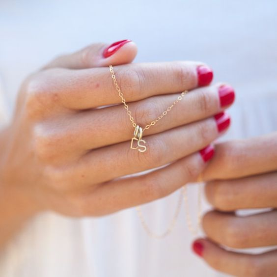 My Tribe 10k Gold Initial Necklace at Lisa Leonard : Coolest Personalized Gifts | Cool Mom Picks Holiday Gift Guide 2016